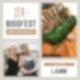 003 | Lammrücken in Kräuter-Senf-Kruste mit Parmesansoufflé und Zuckerschotensalat - einfach kochen!